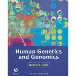 【预订】Human Genetics and Genomics