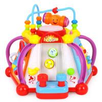 汇乐玩具806快乐小天地儿童益智玩具台游戏桌婴幼儿宝宝早教1-3岁