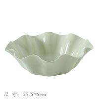 创意家用塑料水果盘客厅厨房茶几果盘瓜子盘办公室干果盘零食盘子