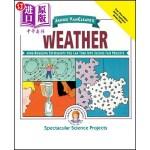【中商海外直订】Janice Vancleave's Weather: Mind-Boggling Experimen