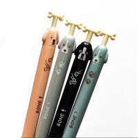 晨光学生铅笔 0.5/0.7 活动铅笔 按动铅笔 萌宠小物造型1045/1024 8支装