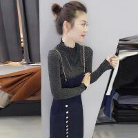 欧洲站女装2019新款春装欧货潮韩版长款包臀显瘦打底吊带连衣裙子