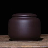 宜兴茶叶罐紫砂罐套装小号普洱罐存储醒茶罐密封罐茶叶包装