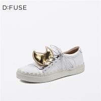 【领券减200】D:Fuse/迪芙斯春季商场同款时尚舒适单鞋女鞋DF71112028