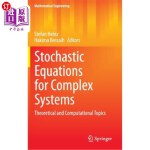 【中商海外直订】Stochastic Equations for Complex Systems: Theoretic