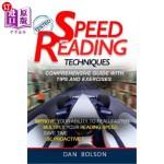 【中商海外直订】Speed Reading Techniques: comprehensive guide with