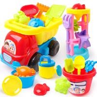 挖沙铲子玩沙工具大号宝宝戏水玩具套装儿童沙滩玩具车套装