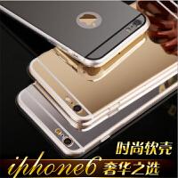 iphone6手机壳潮硅胶4.7苹果6plus手机套5.5镜面创意女6s后盖外壳 iPhone6 Plus手机壳苹果6sPuls硅胶保护套5.5寸硅胶镜面壳潮