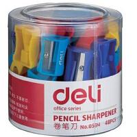 得力卷笔刀 得力0594转笔刀 卷笔器 削笔器 小型转笔刀 此价格为一个