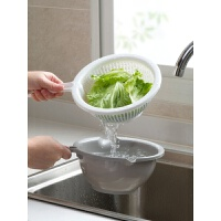 双层洗菜盆厨房洗菜篮子淘米篮家用塑料淘米盆沥水篮洗菜篮