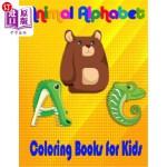 【中商海外直订】Animal Alphabet Coloring Books For Kids: ABC Basic