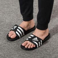 Adidas阿迪达斯 男鞋女鞋 运动沙滩拖鞋休闲透气凉拖鞋 F35580