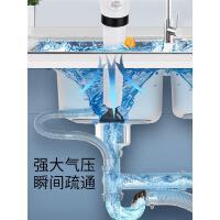 通马桶下水道疏通器厕所通管道皮吸家用厨房堵塞高气压一炮通神器