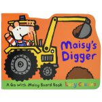 Maisy's Digger : A Go with Maisy Board Book( 货号:97807636801