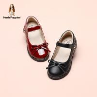 暇步士童鞋女童皮鞋公主鞋2021春秋新款软底单鞋中小儿童返校演出鞋