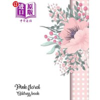 【中商海外直订】Pink Floral Address Book: Contact Person of Family
