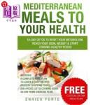 【中商海外直订】Mediterranean Meals to Your Health: 10-Day Detox to