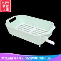 沥水篮厨房沥水碗架塑料碗柜碗碟收纳架蔬菜餐具置物架碗筷沥水架