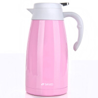 日本304不锈钢保温壶家用热水瓶暖水壶大容量开水保温瓶2升