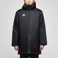 adidas阿迪达斯男子棉服2018新款足球保暖休闲运动服CE9057