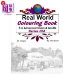 【中商海外直订】Real World Colouring Books Series 104