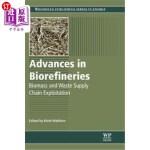 【中商海外直订】Advances in Biorefineries: Biomass and Waste Supply