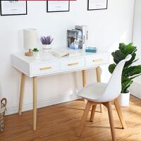 【限时抢购,全店七折】北欧实木书桌简约家用学生卧室写字桌椅现代小户型简易台式电脑桌