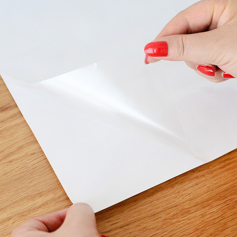 透明厨房防油贴纸家用防水瓷砖耐高温墙贴灶台油烟机纸橱柜贴纸 图片色