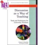 【中商海外直订】Discussion as a Way of Teaching