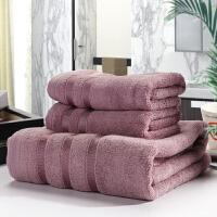 竹纤维断档毛巾浴巾套装*盒包装一条浴巾两条毛巾套装