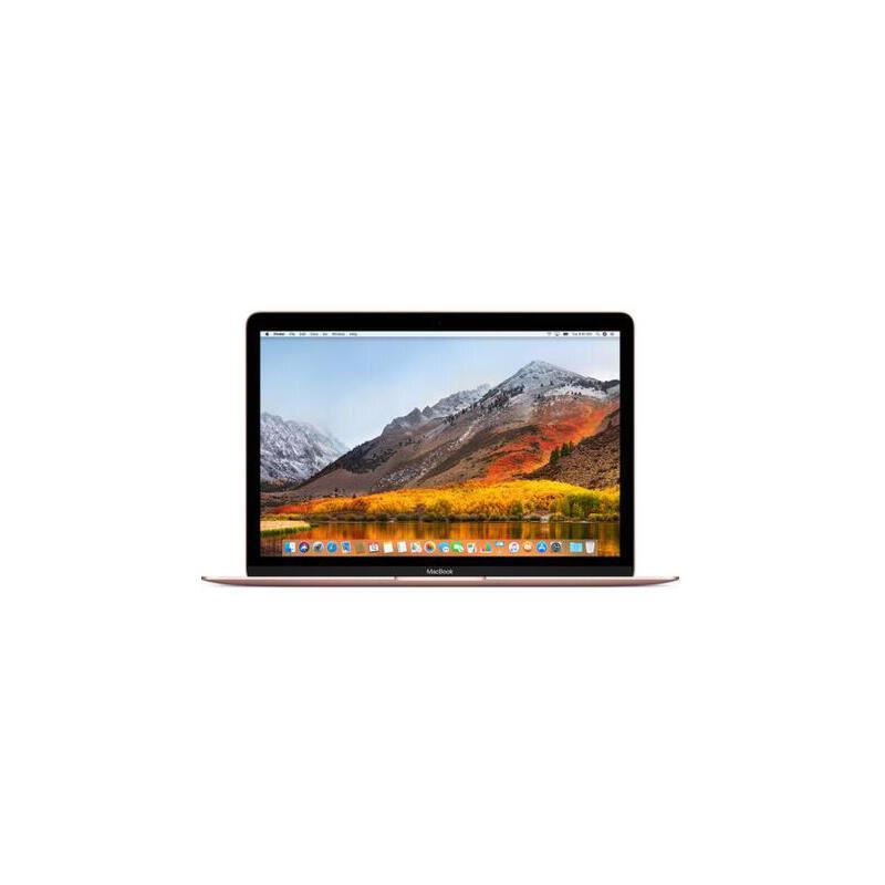 Apple MacBook 12英寸笔记本 玫瑰金(Core m3 处理器/8G内存/256G固态 MNYM2CH/A) 国行原厂三层密封 五码合一 支持官方验证
