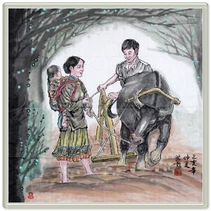 《原创人物画》葛洪彪 西安美院ML4488EBO