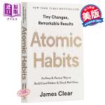 【中商原版】原子习惯:建立好习惯,打破坏习惯 英文原版 Atomic Habits James Clear 自我成长