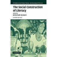 【预订】The Social Construction of Literacy Y9780521819633