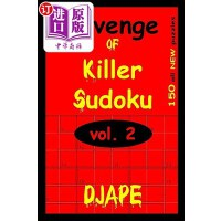 【中商海外直订】Revenge of Killer Sudoku 2: 150 Killer Sudoku Puzzl