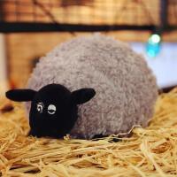 小羊肖恩公仔 黑脸羊小羊肖恩雪莉布娃娃毛绒玩具卡通公仔玩偶睡觉抱枕儿童礼物