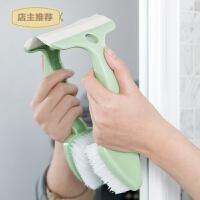 瓷砖清洁刷 双头浴室清洁刷缝隙刷卫生间地板刷擦玻璃刮SN2880