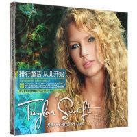 【现货正版】Taylor Swift 泰勒斯威夫特 同名专辑 CD 歌词本