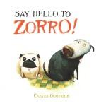 英文原版 狗狗佐罗 Carter Goodrich插画绘本 精装 Say Hello to Zorro!