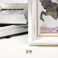 相框摆台美式复古创意挂墙带打印欧式七寸组合照片框加冲印像框架 A3挂墙 营业*【照片尺寸42×29.7cm】画