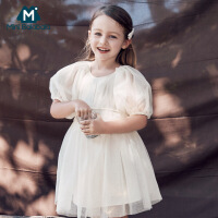 迷你巴拉巴拉女童连衣裙2020夏季女宝宝网纱连衣裙夏装儿童裙子
