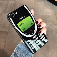 复古诺基亚苹果xsmax手机壳iphone8plus创意6s情侣潮牌7p个性男女xr原创iphone i6/6s 4.