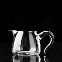 唐丰透明公道杯加厚耐热大容量单个茶漏器侧把功夫装茶器分茶器