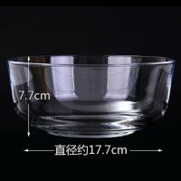 家用创意吃饭小碗餐具透明玻璃水果甜品沙拉碗大号学生泡面碗汤碗
