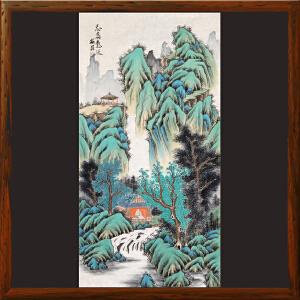 精品山水《志高意远》石振昌R5023 一级美术师 中央工艺美院