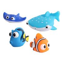 海底总动员戏水玩具 喷水洗澡套装幼儿童 小丑鱼尼莫漂浮喷水玩具