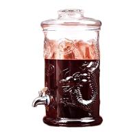 泡酒玻璃瓶泡酒瓶专用酒瓶泡酒坛子玻璃带龙头家用密封泡酒罐10斤