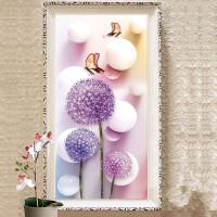 新款钻石画客厅满钻花卉点钻贴钻清新十字绣卧室小幅5D钻石绣