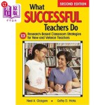 【中商海外直订】What Successful Teachers Do: 101 Research-Based Cla