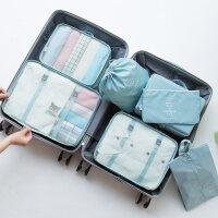 皮箱收纳整理包旅行收纳袋束口袋套装衣服整理打包袋旅游行李箱衣物内衣收纳包
